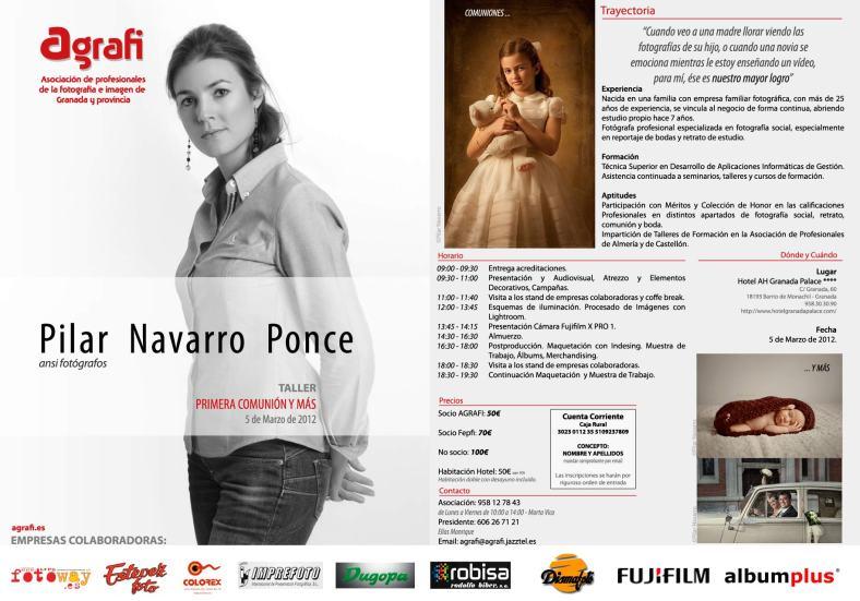 """Programa Actualizado """"Primeras Comuniones y Más"""" con Pilar Navarro"""