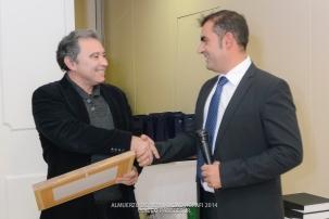 Entrega de Diploma especial a Faustino Maldonado por su reconocimiento como Maestro fotógrafo en Fepfi.