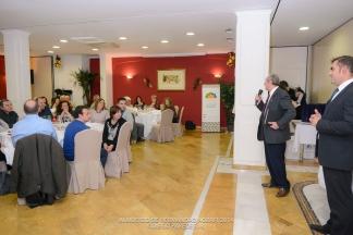 Enrique Oviedo, dedica unas palabras de apoyo a la Junta Directiva de Agrafi