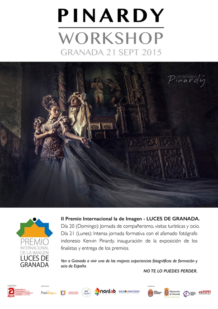 WORKSHOP DE KENVIN PINARDY - GRANADA 21 SEPT 2015