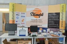 Stand de la empresa colaboradora DISMAFOTO