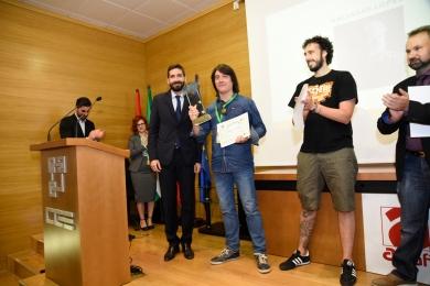 Alfredo Fernández -Fundación Caja Rural Granada entrega Premio de Fotografía de Retrato a Baltasar López