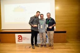 Photocall Luces de Granada 2016. Premiados, amigos y familiares