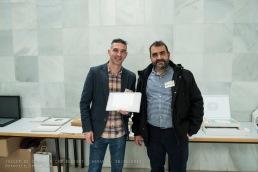 Empresa Colaboradora Laboratorios ATL España con el Presidente de AGRAFI