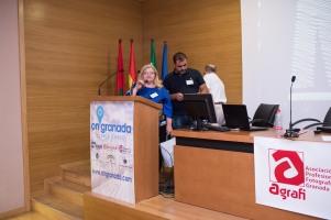 Intervención de la Presidenta de AFP Jaén, Carmen Siles