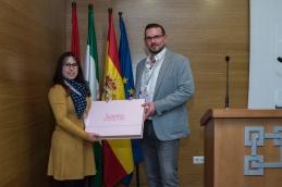 Ganadora del sorteo de la empresa Ldi Granada