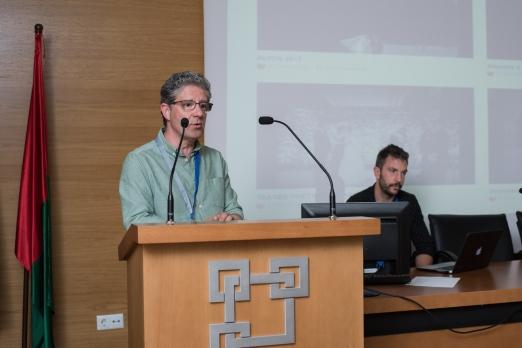 José Hidalgo representante de Fepfi y su Cuerpo Colegiado
