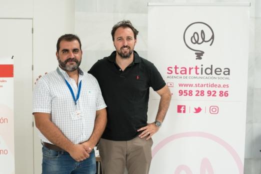 El Presidente de Agrafi con la empresa Startidea - Luiz Izquierdo