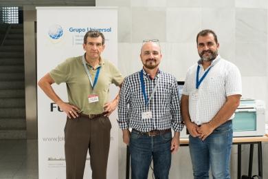 El Presidente de Agrafi con la empresa Grupo Universal - José Panadero y Álvaro Alonzo