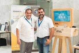 El Presidente de Agrafi con la empresa Servifot - Francisco Crespo