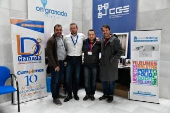 Stand de la empresa colaboradora LDI GRANADA