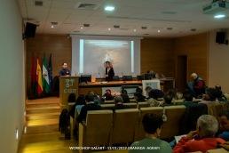 Presentación del Presidente de Agrafi Diego Paredes Jaldo