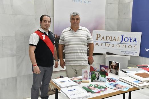 STAND DE PADIAL JOYA ARTESANOS - patrocinador del evento