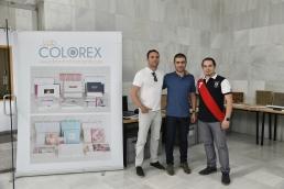 STAND DE COLOREX IMAGEN - Patrocinador del evento