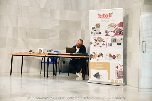 STAND de la empresa colaboradora KITOLI